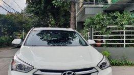 Sell White 2015 Hyundai Santa Fe in Quezon City