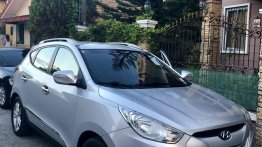 Silver Hyundai Tucson 2010 for sale in Manila