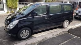Black Hyundai Grand Starex 2010 for sale in Manila