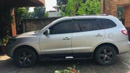Silver Hyundai Santa Fe 2009 for sale in Marikina