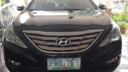 Black Hyundai Sonata 2010 for sale in Quezon