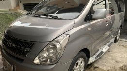 Silver Hyundai Starex 2012 for sale in Quezon