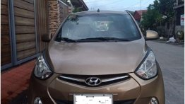 Selling Brown Hyundai Eon GLS 2015 in Angeles