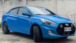 Selling Blue Hyundai Accent 2018 in Paranaque