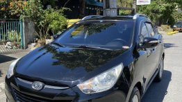 Selling Black Hyundai Tucson 2010 in Parañaque