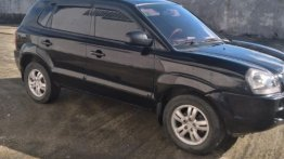 Black Hyundai Tucson 2007 for sale in Marilao