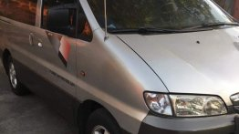 Silver Hyundai Starex 2002 for sale in Quezon