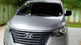 Silver Hyundai Grand Starex 2019 for sale in Mandaluyong
