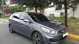 Silver Hyundai Accent 2017 for sale in Manila