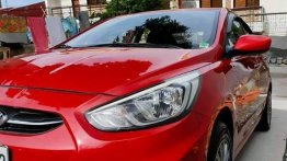 Red Hyundai Accent 2016 for sale in Marikina