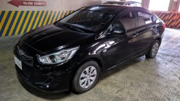 Selling Black Hyundai Accent 2015 in Pasig