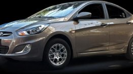 Brown Hyundai Accent 2015 for sale in Guiguinto