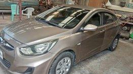 Selling Beige Hyundai Accent 2012 in Quezon