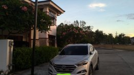 Brightsilver Hyundai Tucson 2016 for sale in Makati