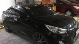 Black Hyundai Accent 2016 for sale in Daraga