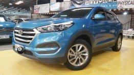 Blue Hyundai Tucson 2017 for sale in Manila