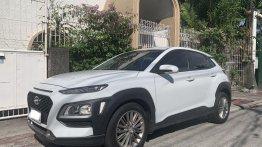 Selling Pearl White Hyundai KONA 2019 in Manila