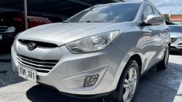 Selling Brightsilver Hyundai Tucson 2012 in Las Pinas