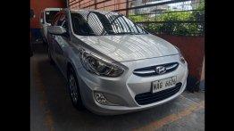 Brightsilver Hyundai Accent 2017 for sale in Quezon