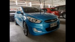 Blue Hyundai Accent 2018 for sale in Pasig