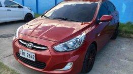 Selling Red Hyundai Accent 2018 in Lapu Lapu
