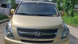Golden Hyundai Grand Starex 2012 for sale in Quezon