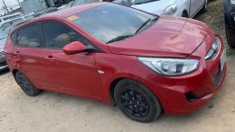 Red Hyundai Accent 2017 for sale in Cainta