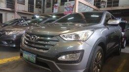 Silver Hyundai Santa Fe 2014 for sale in San Mateo