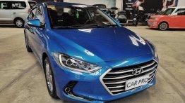 Selling Blue Hyundai Elantra 2016 in San Fernando