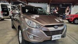 Selling Brightsilver Hyundai Tucson 2012 in San Fernando