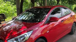 Red Hyundai Accent 2016 for sale in Carmona