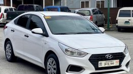White Hyundai Accent 2020 for sale in Manual