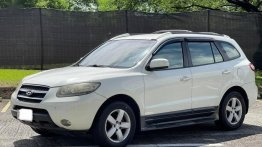 Selling White Hyundai Santa Fe 2008 in Las Piñas