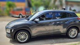 Silver Hyundai KONA 2020 for sale in Dasmarinas