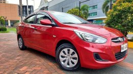 Red Hyundai Accent 2018 for sale in Marikina