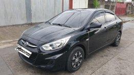 Selling Black Hyundai Accent 2018 in Quezon City