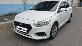 Pearl White Hyundai Accent 2020 for sale in Manual