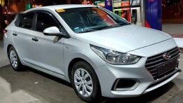 Silver Hyundai Accent 2019 for sale in Mandaluyong