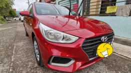 Selling Red Hyundai Accent 2019 in Santiago