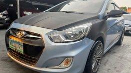 Selling Blue Hyundai Accent 2014 in Las Piñas