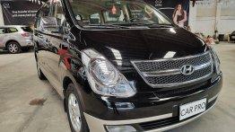 Black Hyundai Grand Starex 2008 for sale in San Fernando