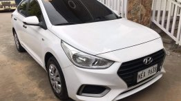 White Hyundai Accent 2019 for sale in Manila