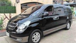 Selling Black Hyundai Grand Starex 2014 in Valenzuela