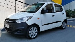 White Hyundai I10 2012 for sale in Pasig
