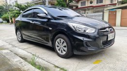 Selling Black Hyundai Accent 2018
