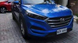 Selling Blue Hyundai Tucson 2017 in Quezon City