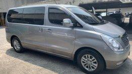 Silver Hyundai Grand Starex 2015 for sale in Las Piñas