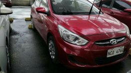 Sell Red 2017 Hyundai Accent in Quezon City