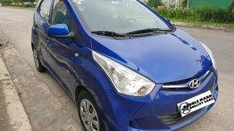 Blue Hyundai Eon 2019 for sale in Quezon City