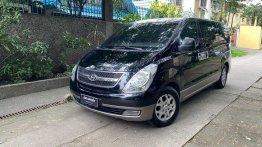 Selling Black Hyundai Starex 2009 in Quezon City